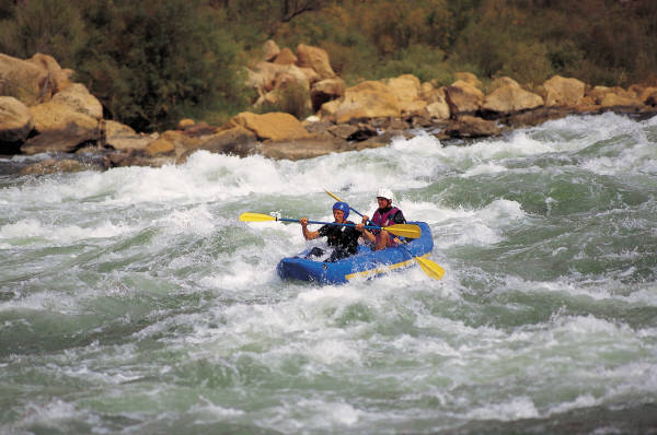 Rafting on Local Rivers